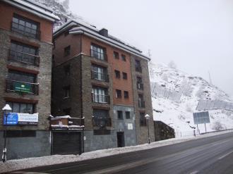 Façade Winte Andorre Grandvalira CANILLO Appartements Canillo Les Moles 3000