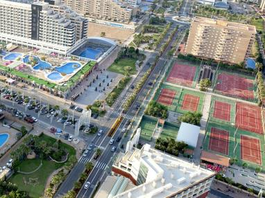 Vistas España Costa Azahar Oropesa del mar Apartamentos Marina D'Or 3000