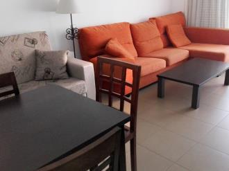 Salón comedor España Costa Azahar Alcoceber Apartamentos Alcocebre Suites 3000
