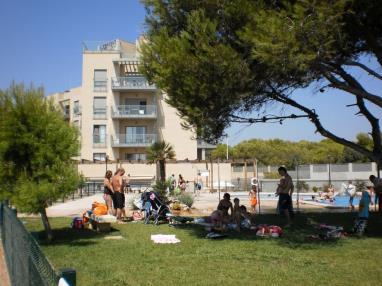 Fachada Verano España Costa Azahar Alcoceber Apartamentos Alcocebre Suites 3000