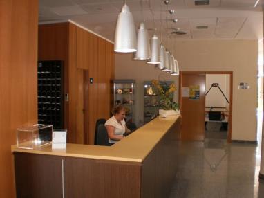 Recepción España Costa Azahar Alcoceber Apartamentos Alcocebre Suites 3000