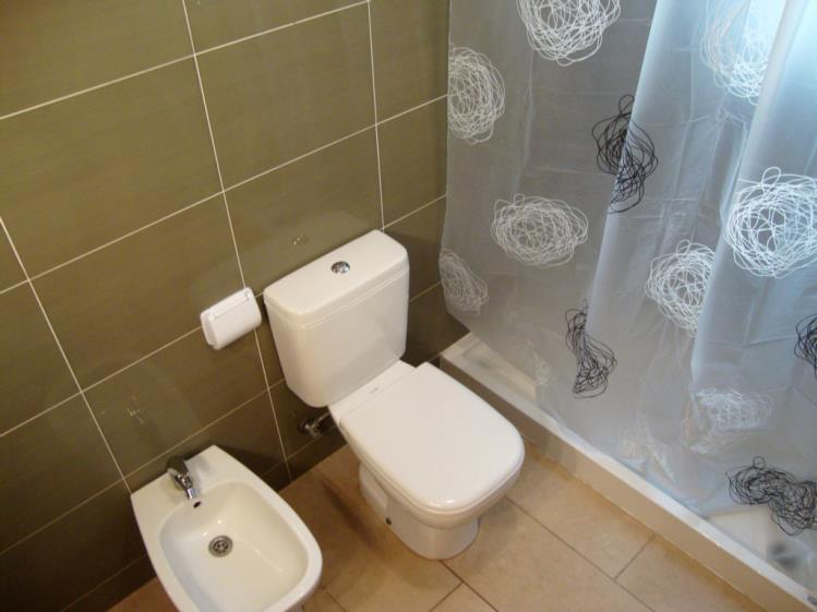 Baño Apartamentos Las Palmeras 3000 Peñiscola