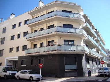 Fachada Verano España Costa Azahar Peñiscola Apartamentos Las Palmeras 3000
