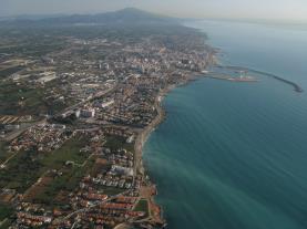 Vinaros desde arriba VINAROZ Costa Azahar Spagna