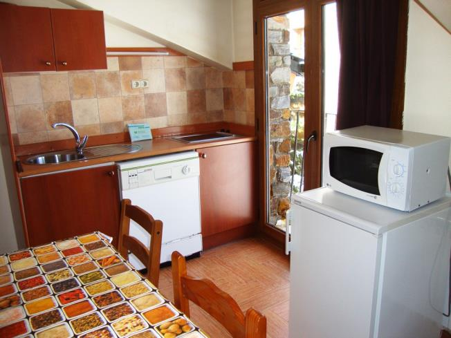Cocina Apartamentos Anem 3000 Ordino