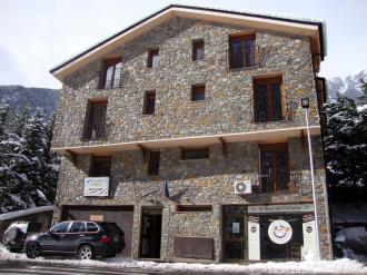 Façade Winte Andorre Vallnord ORDINO Appartements Anem 3000