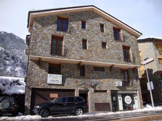 Fachada Invierno Andorra Estación Vallnord Ordino Apartamentos Anem 3000
