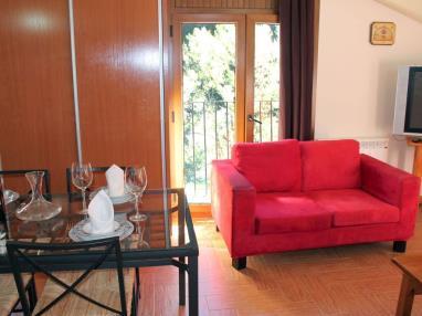 Salón comedor Andorra Estación Vallnord Ordino Apartamentos Anem 3000