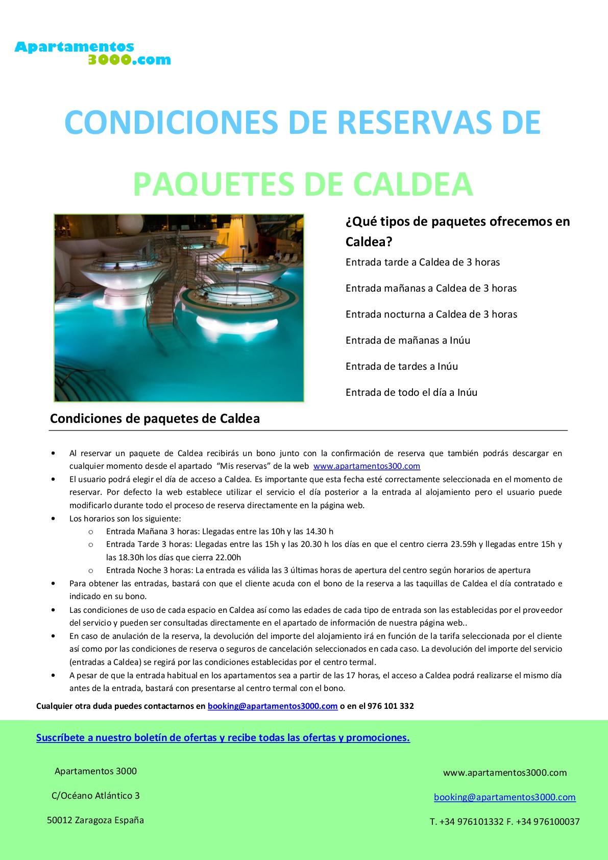 Escapada a Caldea - Oferta Caldea más Hotel